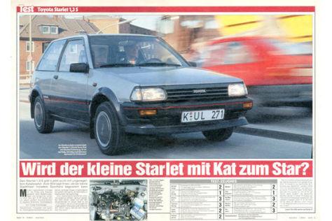 Toyota Starlet 1,3S
