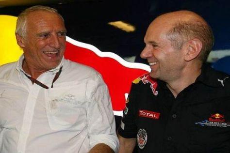 Dietrich Mateschitz und Adrian Newey: Wie wäre es mit einem VW-Motor?