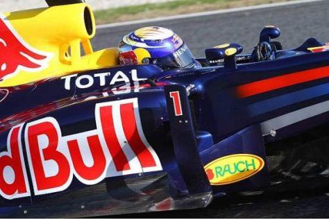 Sebastian Vettels RB7 ist besonders in schnellen Kurven das Maß aller Dinge