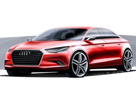 Audi A3 concept: Autosalon Genf 2011