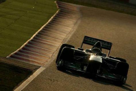 Nico Rosberg sieht nach dem Test in Barcelona Licht am Ende des Tunnels