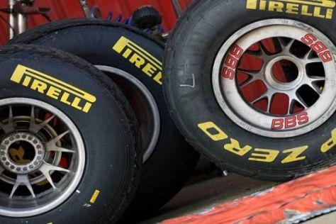 Die stark abbauenden Pirelli-Pneus bereiten einigen Fahrern Kopfzerbrechen
