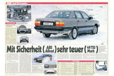 Audi 100 CS quattro