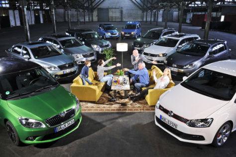 Vergleich Skoda gegen VW