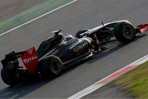 Sergio Rinland erkennt am neuen Renault R31 viele gute Ansätze