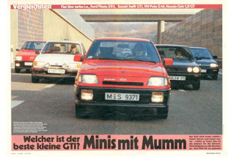 Minis mit Mumm