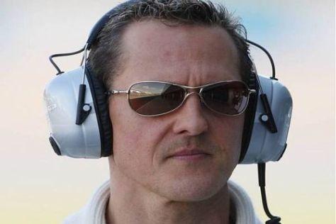 Michael Schumacher weiß, dass die Formel 1 derzeit nicht Priorität hat