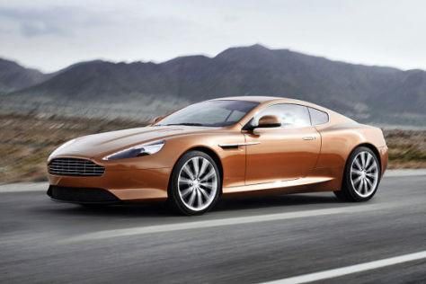 Aston Martin Virage Coupé 2012