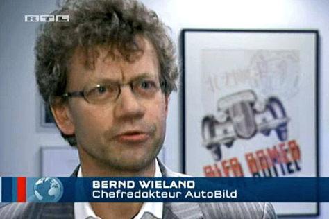 Bernd Wieland im RTL Nachtjournal