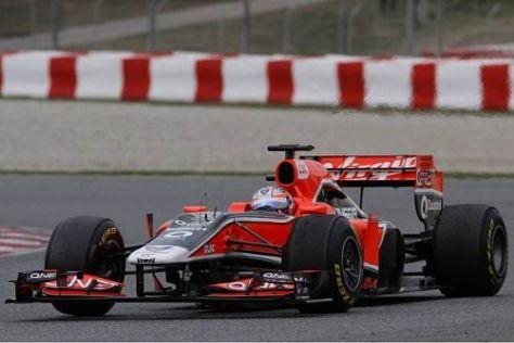 Timo Glock erwartet weitere Fotschritte mit dem Marussia-Virgin MVR-02