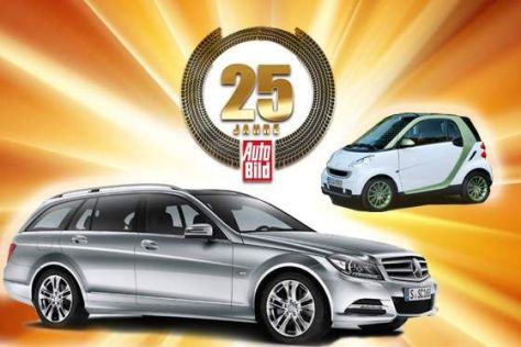 25 Jahre AUTO BILD Jubiläums-Gewinnspiel