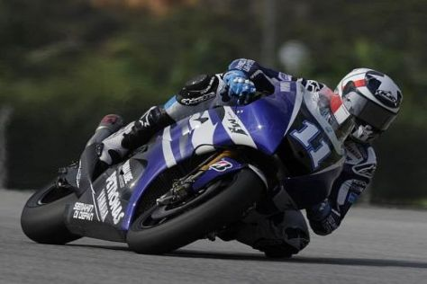 Ben Spies war am Donnerstag erneut der schnellste Yamaha-Pilot in Sepang
