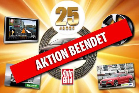 25 Jahre AUTO BILD Jubiläums-Schnäppchen