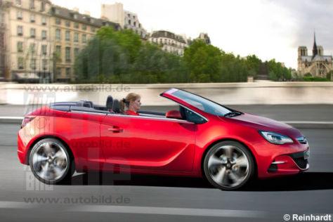 Opel Cabrio (Zeichnung)