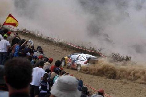 Sebastien Ogier holte 2010 in Portugal seinen ersten WRC-Sieg
