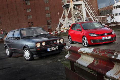 VW Golf II GTI 16V gegen Golf VI GTI