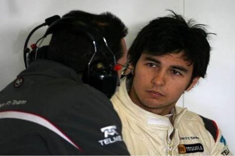 Sergio Perez legt viel Wert auf eine gute Kommunikation mit dem Team
