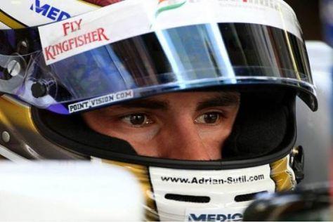 Adrian Sutil geht erneut für Force India an den Start und will wieder in die Top 10