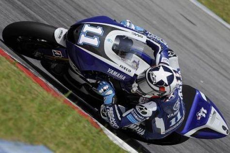 Ben Spies: Die Werks-Yamaha kommt deutlich schneller auf Topzeiten