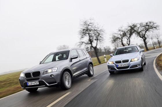 BMW X3 BMW 3er Touring