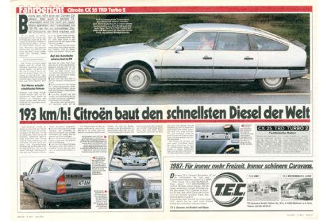 Citroën CX 25 TRD Turbo 2