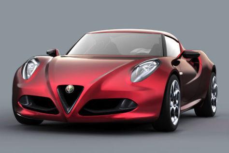 Alfa Romeo 4C Concept: Autosalon Genf 2011
