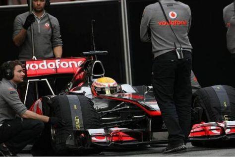 Sorgenkind MP4-26: Hamilton und Button mussten lange Wartezeiten hinnehmen