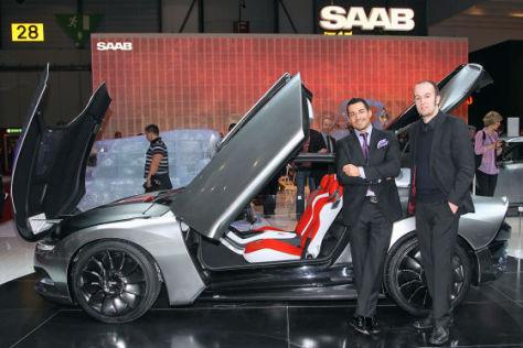 Genf 2011: Sitzprobe im Saab Phoenix Concept