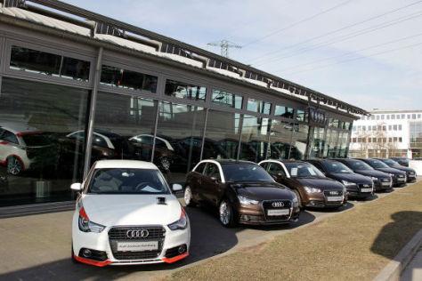 Audi A1 beim Händler