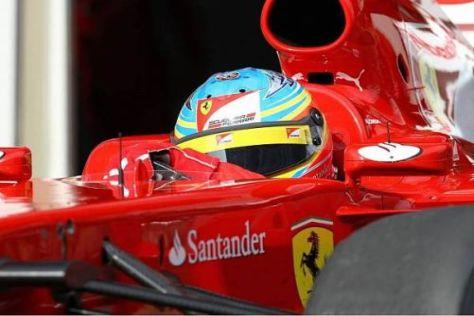 Alonso fühlt sich bei Ferrari rundum wohl und will noch einige Titel erringen