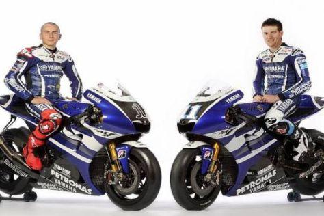 Lin Jarvis vertraut auf die diesjährigen Yamaha-Speerspitzen Lorenzo und Spies
