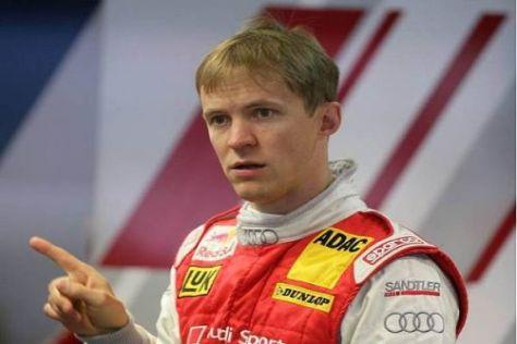 Da geht's lang: Mattias Ekström will so schnell wie möglich wieder ins Rennauto