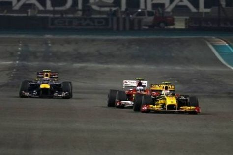Trotz einer extrem langen Geraden wird in Abu Dhabi wenig überholt