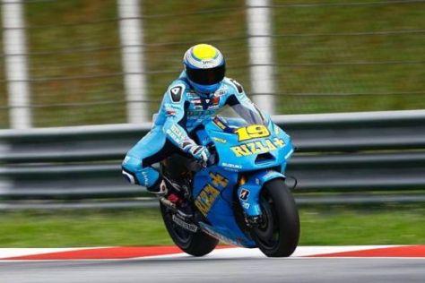 Alvaro Bautista bestreitet in diesem Jahr seine zweite Rennsaison in der MotoGP
