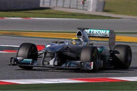 Das Mercedes-Team hat für das Testfinale ein großes Update angekündigt