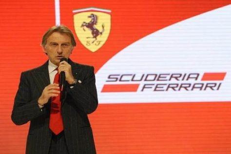 Luca di Montezemolo möchte sein Team wieder an der Spitze der Formel 1 sehen