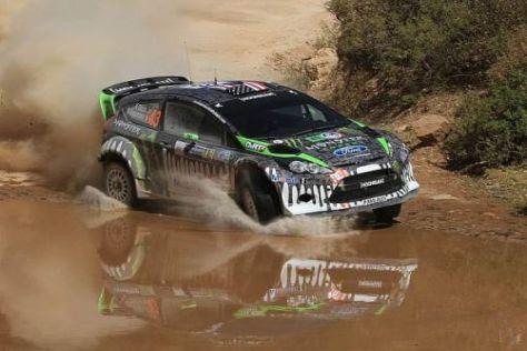 Der US-Amerikaner Ken Block hat die Mexiko-Rallye genossen