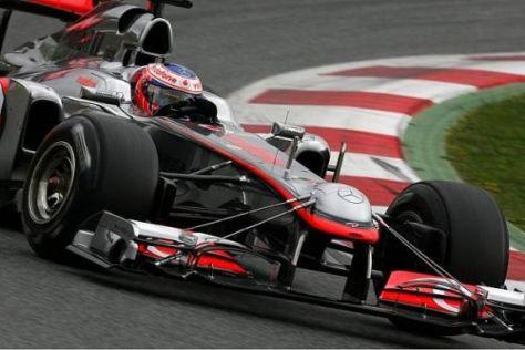 Jenson Button gibt sich vor dem Saisonstart verhalten optimistisch