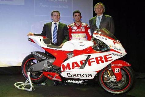 Hector Barbera kämpft 2011 in neuen Farben um WM-Punkte in der MotoGP