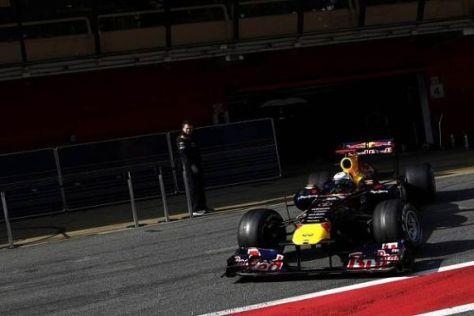 Sebastian Vettel und sein Team Red Bull sind derzeit sehr gut in Form