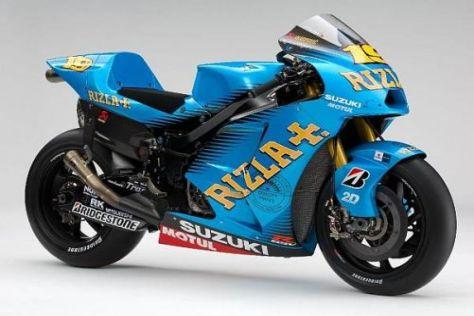 Mit dieser Suzuki GSV-R möchte Alvaro Bautista zu Erfolgen fahren