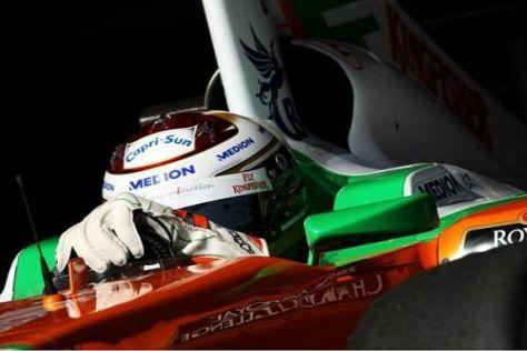 Adrian Sutil und Force India nehmen Kurs auf die neue Saison in der Formel 1