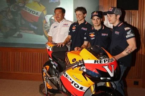 Das Werksteam von Honda könnte 2011 die besten Chancen auf den Titel haben