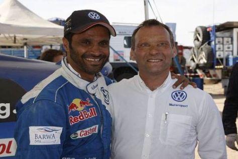 Bald zusammen in der WRC? Nasser Al-Attiyah und Kris Nissen