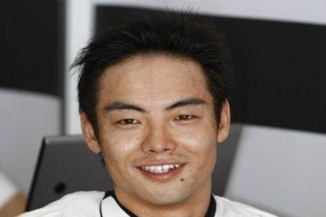 Hiroshi Aoyama meldete sich nach dem Erdbeben via 'Twitter' zu Wort