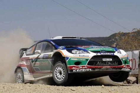 Mikko Hirvonen konnte in Mexiko wenigstens noch Rang zwei einfahren