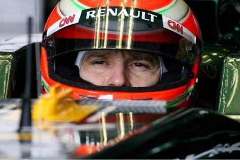 Jarno Trulli macht sich angesichts der Arbeit im Cockpit wenig Sorgen