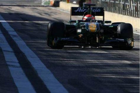 Jarno Trulli möchte mit dem Lotus T128 in diesem Jahr einige WM-Punkte holen