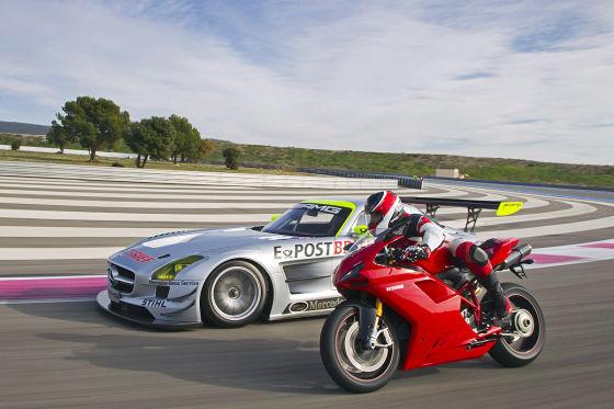 Mercedes SLS AMG GT3 Ducati 1198 SP