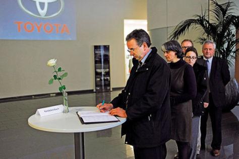 Trauer bei Toyota Deutschland